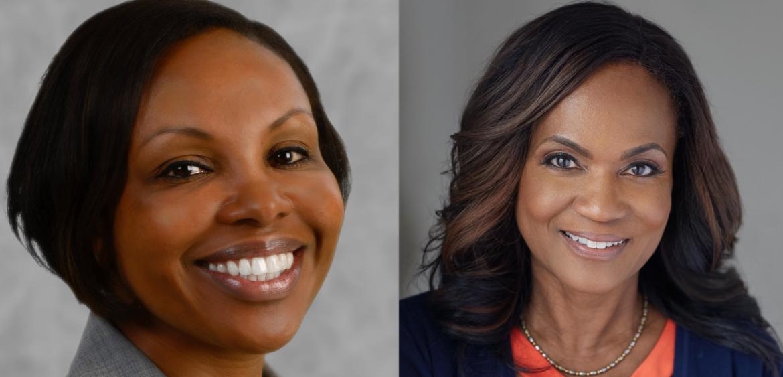 Dr. Karen Bullock and Dr. Gloria Thomas Anderson