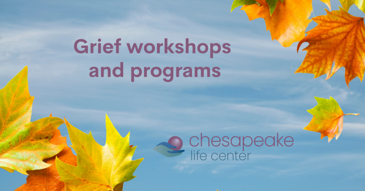 Fall Special Grief Programs Featured Photo