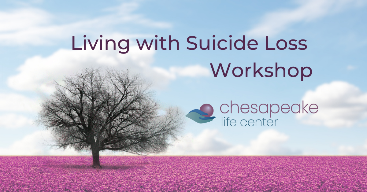Living with Suicide Loss Workshop Title Page