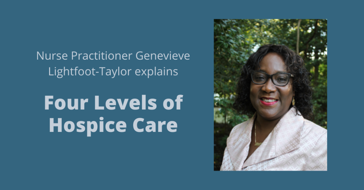 Featured photo for Four Levels of Hospice Care